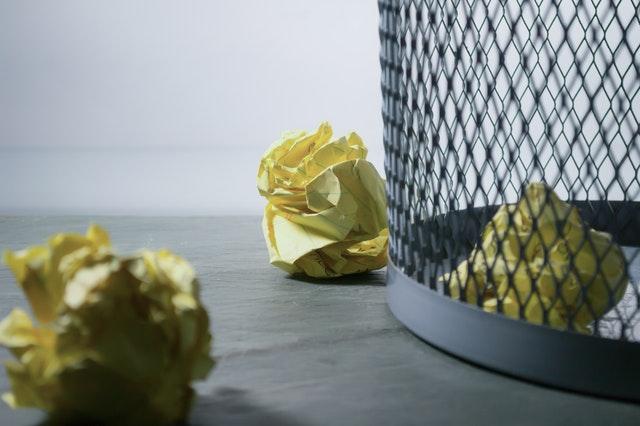 Brilliant Office Hygiene Hacks - Waste Paper Bin